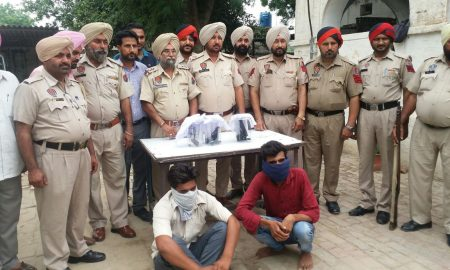 Two Illegal, Arms, Suppliers, Madhya Pradesh, Punjab