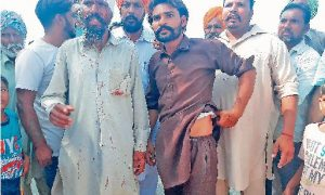 Supporters, Akali Dal, Bandage, Swords, Attacked