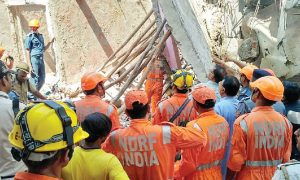 Four Storey, Building, Collapsed, Delhi, Four Children, Woman Death