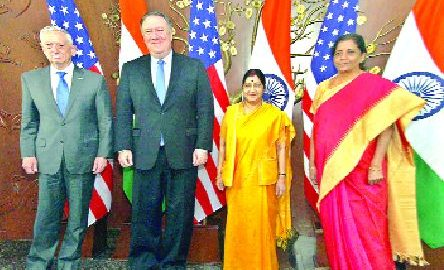 India, USA, Signature, Two Important, Agreements