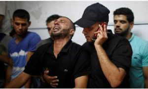 Six Palestinians, Killed, Israeli, Militaryf, Firing
