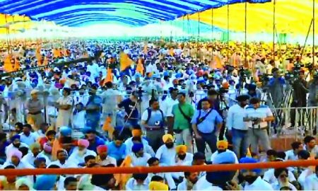 Rally, Showed Face, Congress, Badal