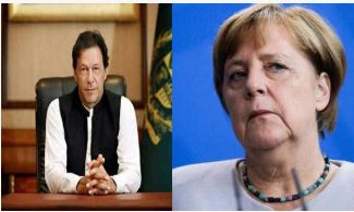 Imran, Merkel, Talk About, India, Afghanistan, Issue