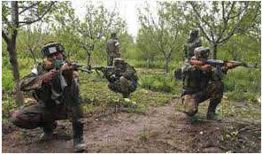 Two Jawans, Injured, Encounter, South Kashmir