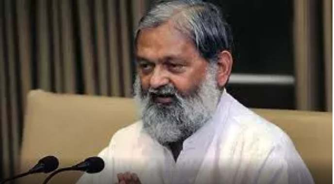Home Minister Anil Vij did not attend a meeting of mayors convened by manohar lal khattar