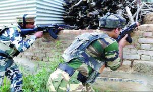 Security Forces, kashmir, Search operation