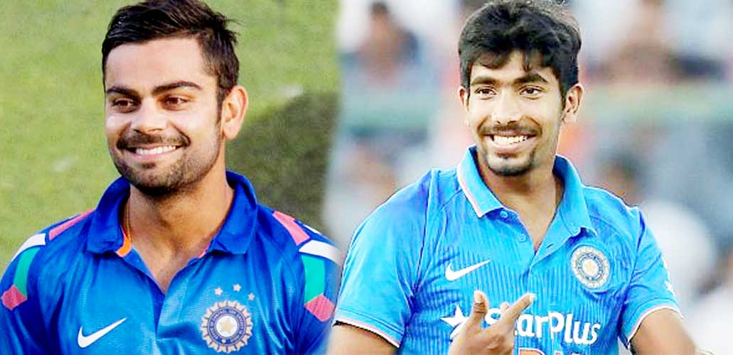 Bumrah,2nd, Top Batsman, Kohli, T20, sports