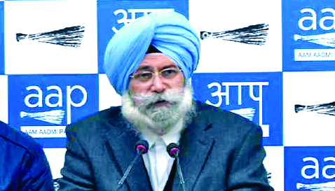 HS Phoolka, Resign,Opposition Leader, Punjab, Aam Admi Party