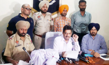 Heroin, Seized, ludhiana, 25 Crore, NRI Arrested, Crime