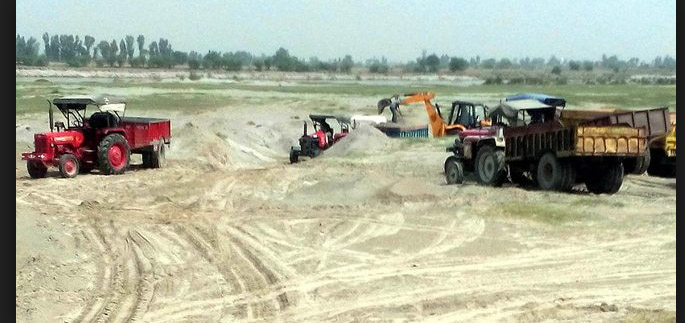 Government, Serious,Sand Quarries, Article