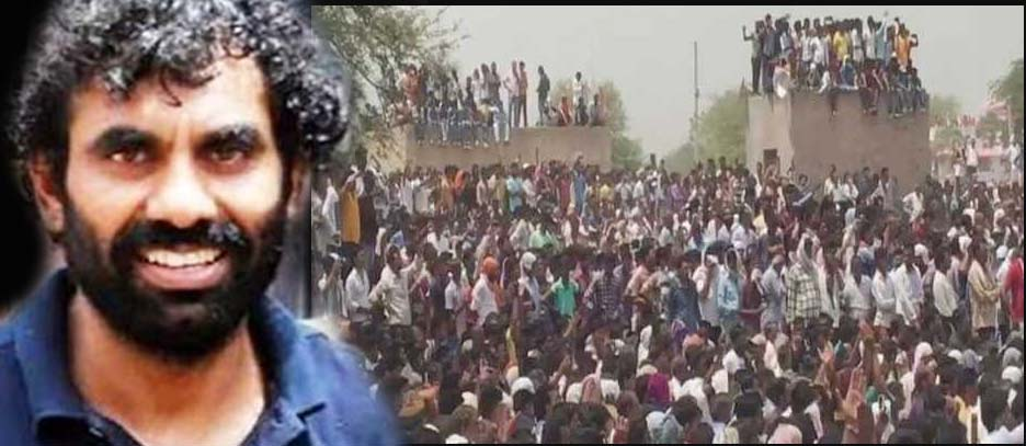 Anandpal encounter, Protest,Rajput Community, Nagour, Fining