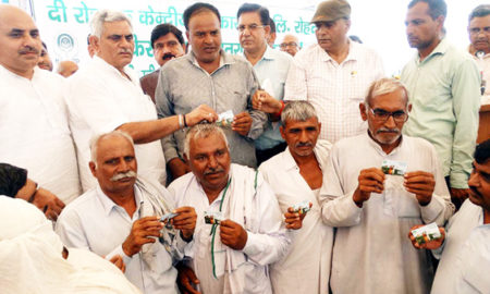Congress, Responsible, Plight, Farmers, Munish Grover,Cooperation Minister