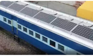 Trains,Feature, Solar Panels, Indian Railway, Project