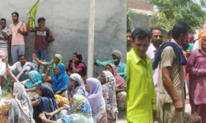 villagers, Protest, Powercom Officers, BKU