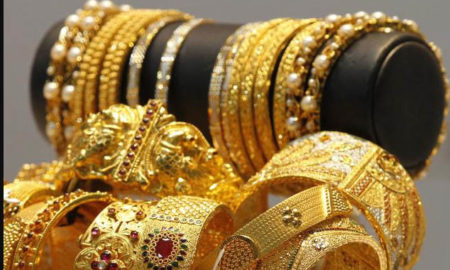 Gold and silver, fall in demand
