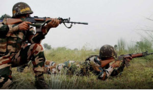 Pakistan, Firing, Indian, Posts, Kupwara