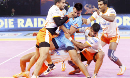 Puneri, Defeats, Bengal, Pro Kabbadi league, Sports