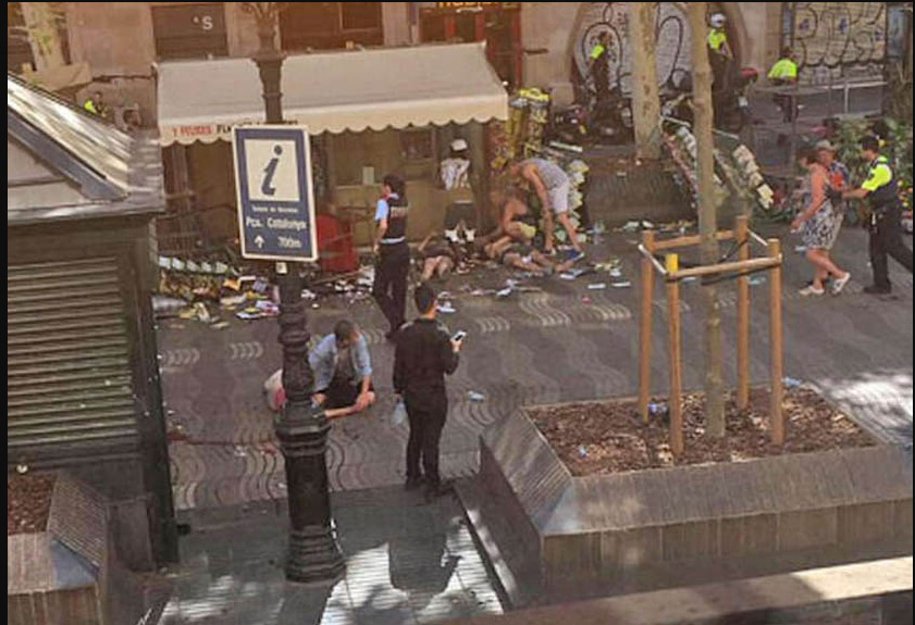 Died, Police, Injured, Panic, Second Attack, Spain, Vain