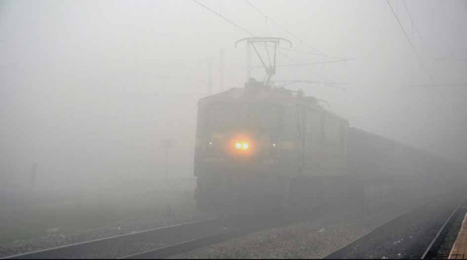 Fog, Hit, After, Record Winter