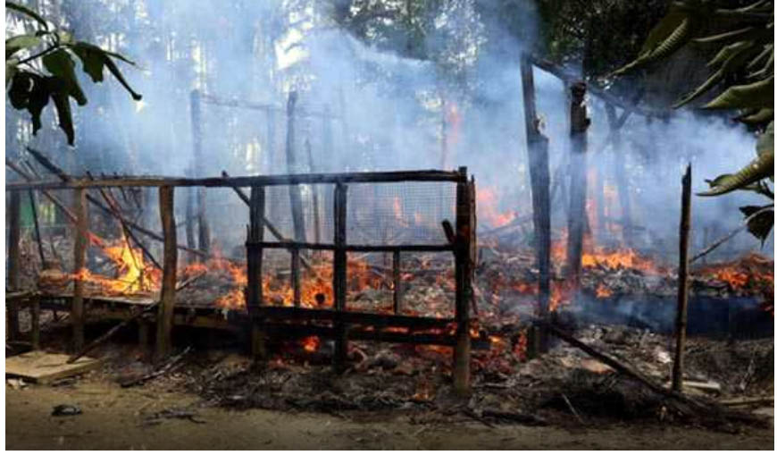 Hrw, Villages, Rohingya, Burnt