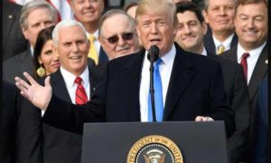 Tax Reform Bill, Passed, US, Donald Trump, Democratic Leaders