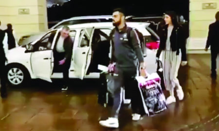Cape Town, Sauth Africa, Arrives, Team India, Virat Kohli, Sports