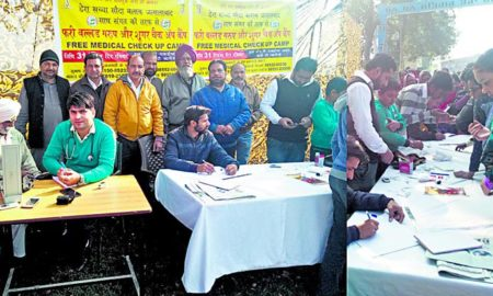 Patients,Free, Medical, Checkup, Camp, Welfare Work