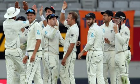 New Zealand, Beat, England, 49 runs