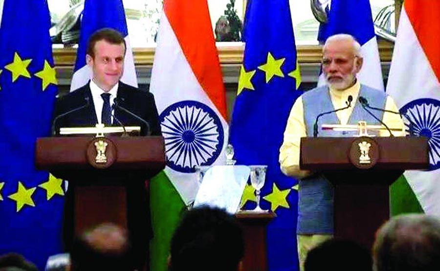 13 Agreements, India, France