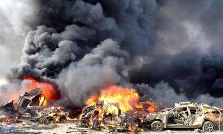 Car Blasts, Special Forces Base, Afghanistan
