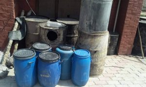 35 Thousand, Liters, Raw, Alcohol, Recovered
