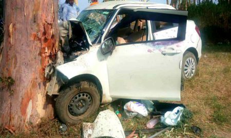 Four, Members, Family, Died, Road, Accident