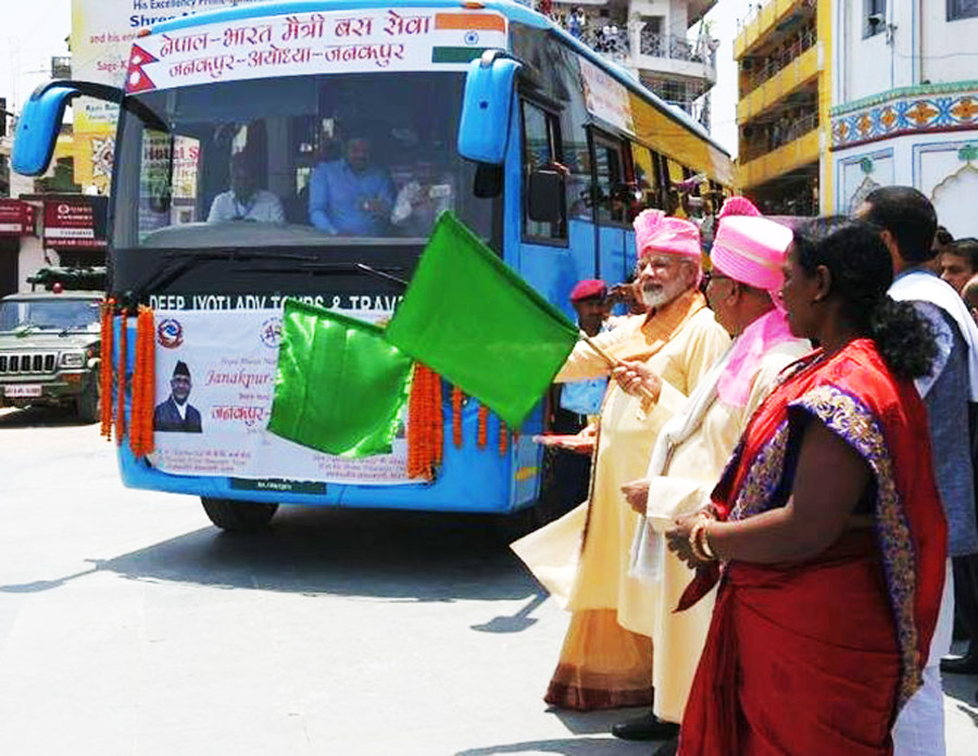 Janakpur, Ayodhya, Bus, Service, Started