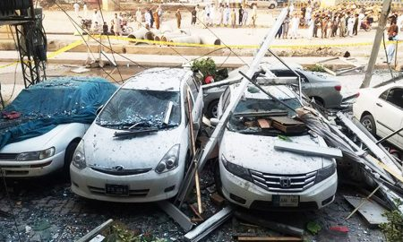 Peshawar City, Hotel, Five Died, Family , Injured