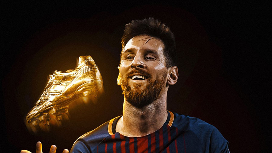 Messi, win, Golden Shoes