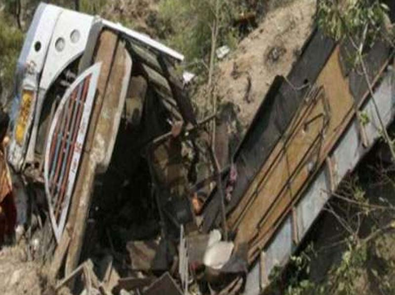 Bus, Fell, Into, Deep, Gorge, Killing, 10People