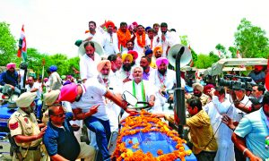 Congress, Happy, Tractor, Rally