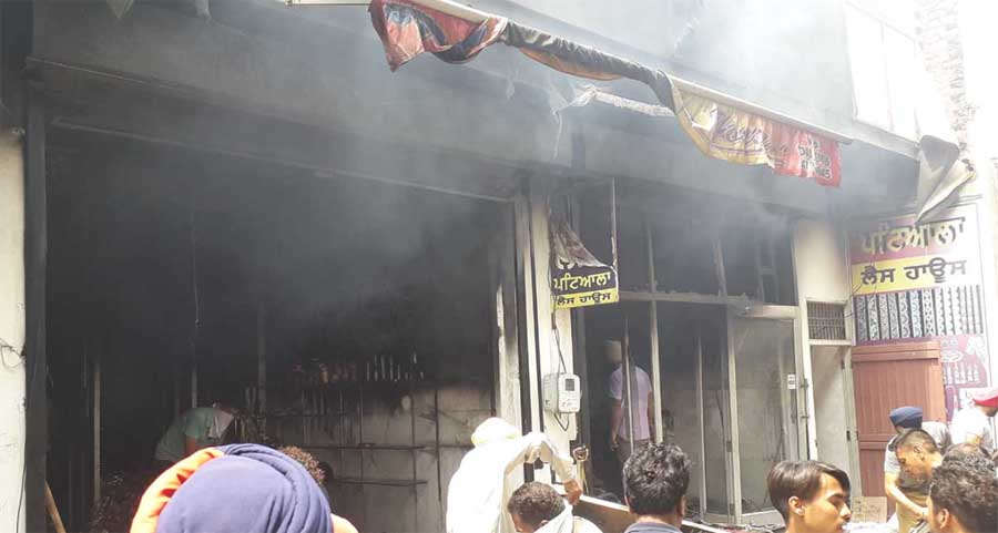 Fire, Patiala, House, Loss, Crore