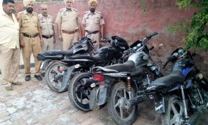 2 People, Including, Motorbike, Theft, Were, Arrested