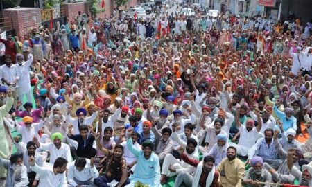 Strong, Protests, Against, DC, Office, Get, Reserve, Quota, Land