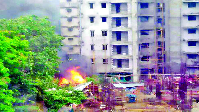 Mumbai, Tragic, Incident, Happened, Near, Sarvodiya, Town, Ghatkopar