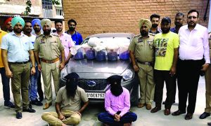 Smugglers, Including, Opium, Arrested