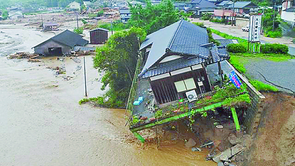 Heavy, Rains, Japan, Affected, More, 1.6 Million, People