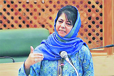 Mehbooba, Statement, Anti-India