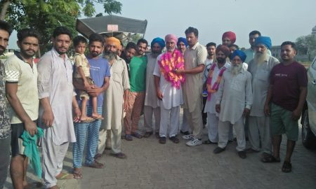 Nachhatar Singh, Elected ,Village ,Sarpanch