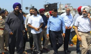 BRTS, Project, Inaugurated, October, Sidhu