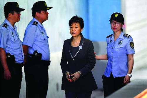 Corruption,South, Korea, President, Gets, Another, Eight, Year, Sentence