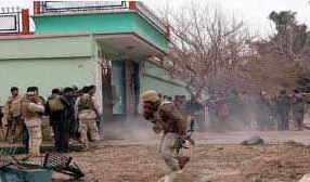Attack, Convoy, Intelligence, Agency, Kabul, Four Dead