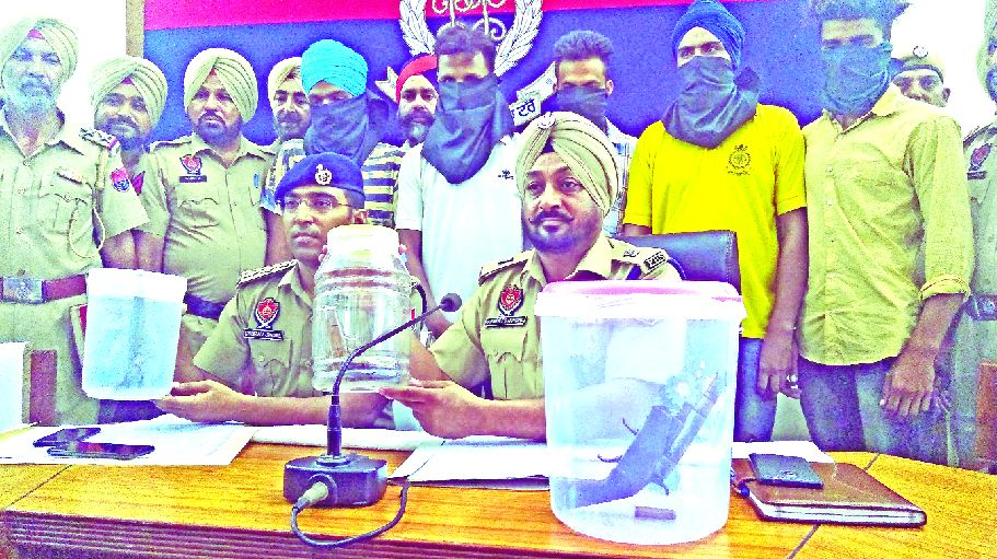 PCR, Patiala, Robbery, 5 Control