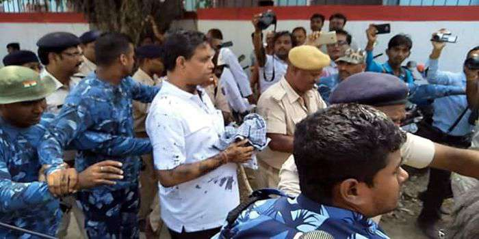 Shelter Home, Rape, Case, Ink,Accused, Thakur, Face